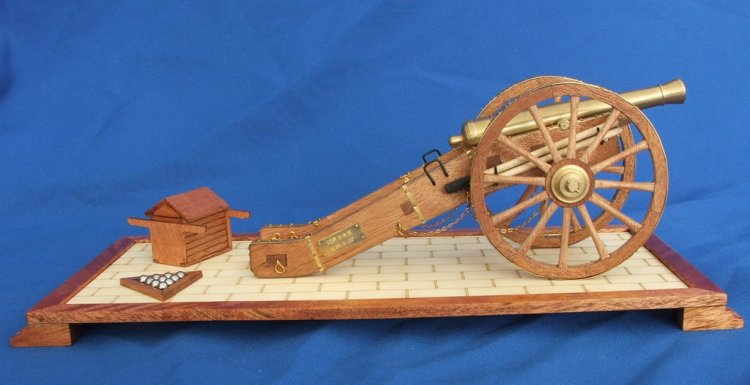 ZHL wooden model kit cannon of napoleon's time KS09(China (Mainland))