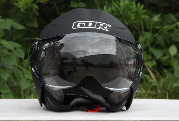 GDR harley helmet half motorcycle helmet GDR 625 electric half 3 4 harley motorcycle helmet