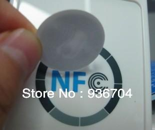 ntag203 NFC Tags for Galaxy S4(i9500) Nexus S4, Blackberry, Sony compatible with all the nfc android smart phone Free Shipping(China (Mainland))