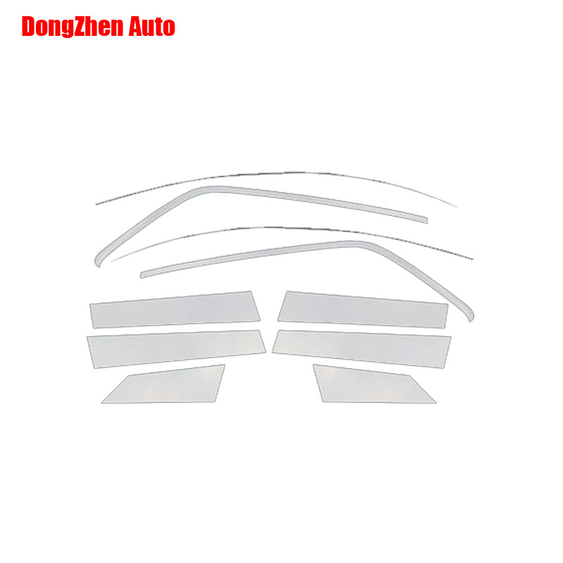 DongZhen Car Headup window trims cover  stickers Auto covers Fit For Ford Ecosport  2013 1set  10pcs car styling<br><br>Aliexpress