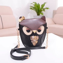 2016 Women's Owl Fashion Handbag One Shoulder Crossbody Clutch Mini Bags Bolsa Feminina Designer High Quality