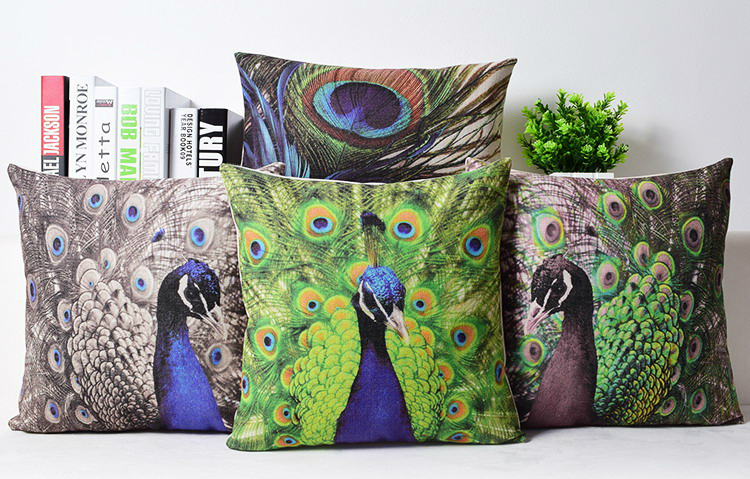 Peacock Feather Car Seat Covers