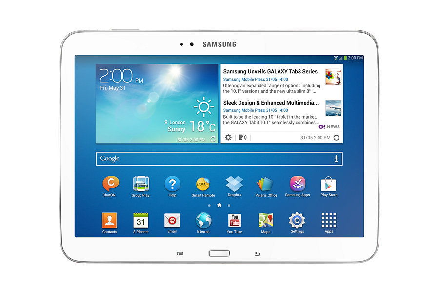 10.1-inch original samsung galaxy tab 3 P5210 Android 4.2 1280x800 Dual-core WIFI tablet 6800mAh(China (Mainland))