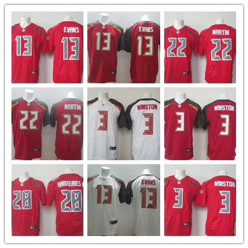 100% Stitiched,Tampa Bay,#3 Jameis Winston,#13 Mike Evans,#22 Doug Martin,Vernon Hargreaves,Warren Sapp,cus,camouflage(China (Mainland))
