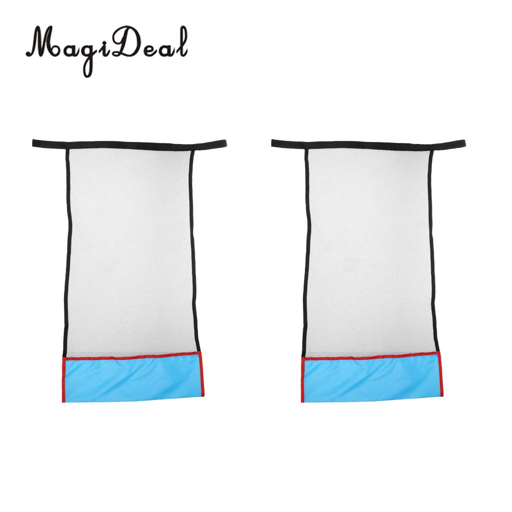 MagiDeal 2 Pieces Water Relaxation Floating Swimming Pool Noodle Sling Mesh Chair Net