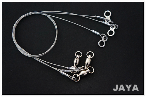 30CM fishing leader stainless steel wire for lure fishing trace Free Shipping(China (Mainland))