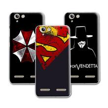 Buy New Fashion Phone Case Dark Man Lenovo K5 A6020 Case Cover Hard Plastic Lenovo Vibe K5 K5 Plus Cover+ Free Pen for $1.48 in AliExpress store