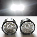 For NISSAN Note E11 MPV 2006 2015 Car styling front bumper LED fog Lights high brightness