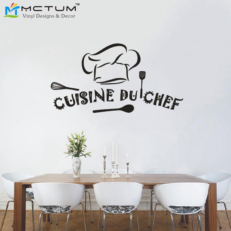 Achetez en gros d coration chef de cuisine en ligne des - Stickers carrelage mural cuisine ...