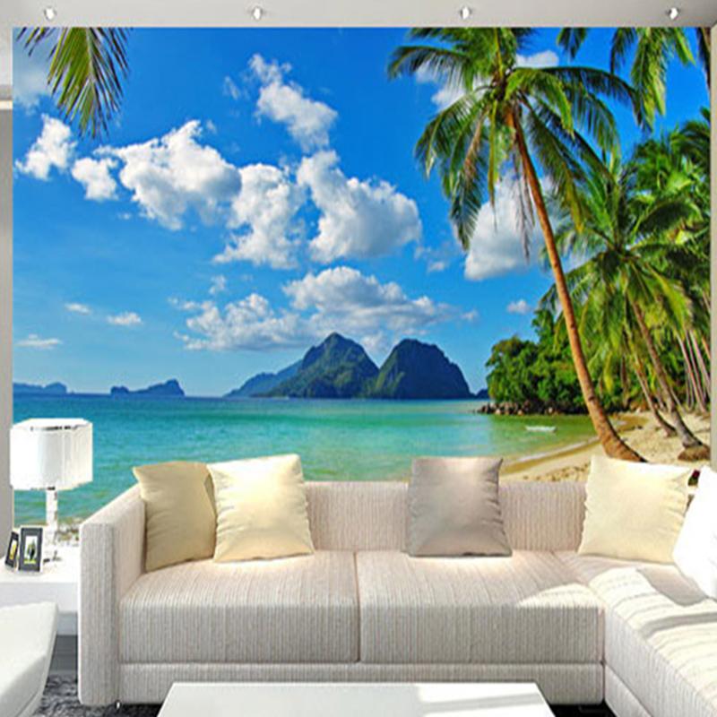 Buy custom mural 3d natural scene photo for Mural nature