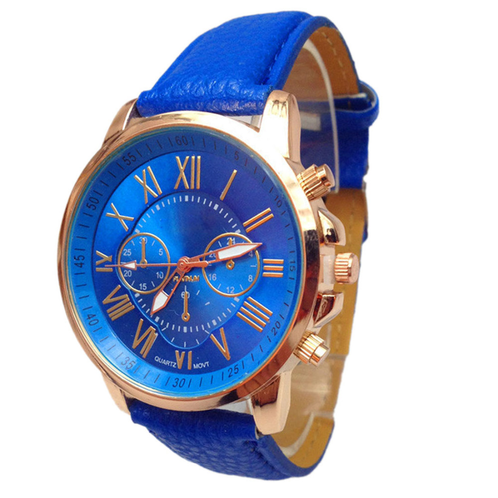 new design watches stylish numerals dail faux