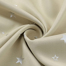 Блестящие звезды детская ткань шторы для гостиной дети мальчик девочка спальня синий/розовый ночные шторы на заказ драпировка wp123-45(China)