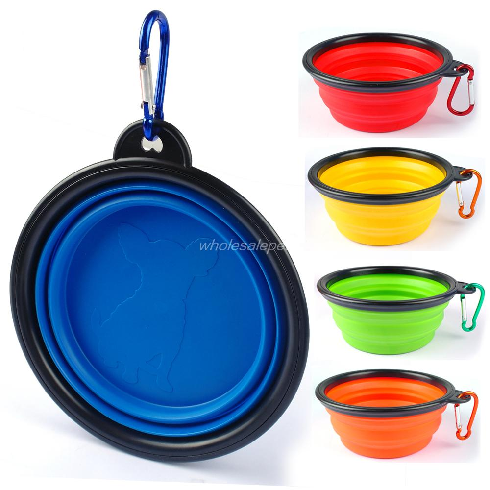 Portable Dog Water Bowls Bowl For Large Breed Dogs Premium: Aliexpress.com : Buy Silicone Bowl Dog Collapsible Water