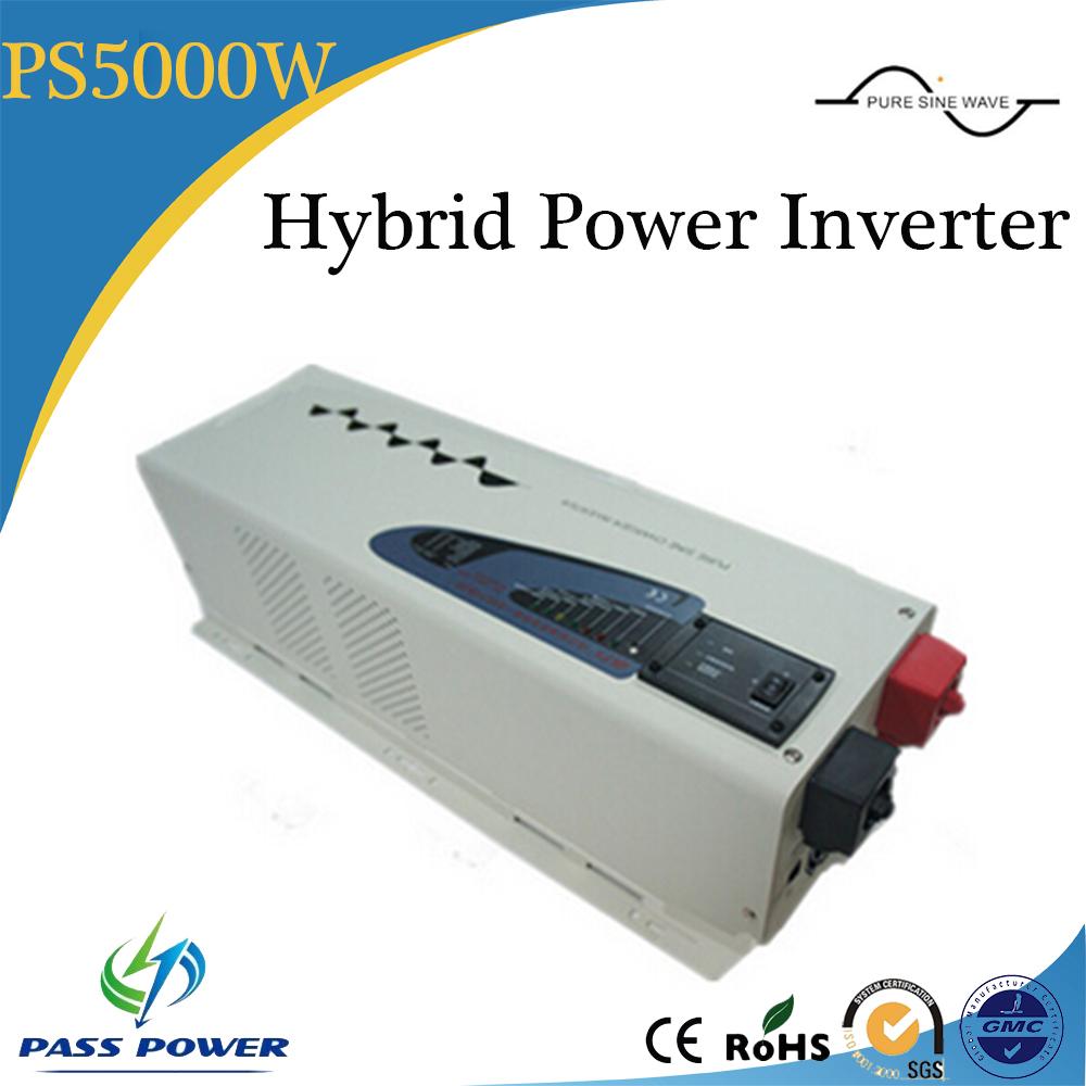 5000W/5KW Solar Power System Pure Sine Wave Hybrid Inverter(China (Mainland))