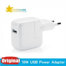 100% Genuine Original 12w USB Power Adapter AC Wall Travel Charger for Apple iPhone 4 4s 5 5s iPad 3 4 mini Air iPod nano for EU