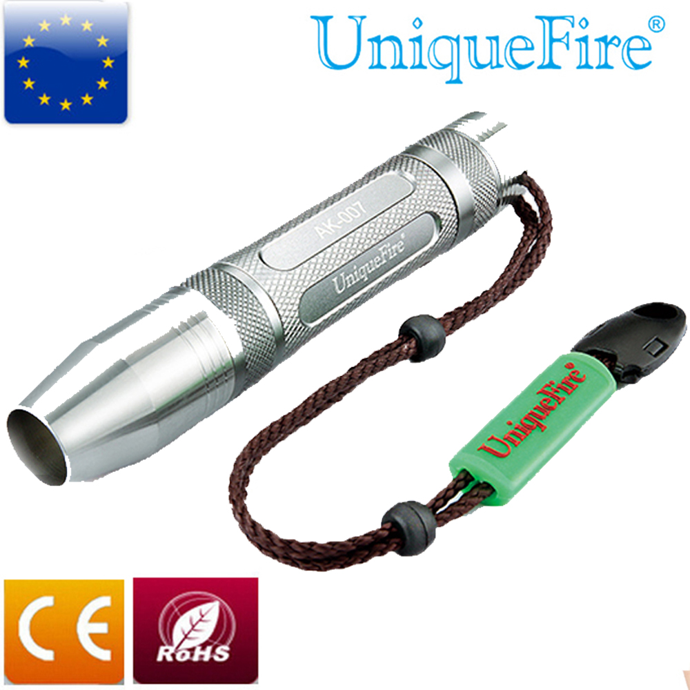UniqueFire Pocket Torch UF-AK007 Portable Professional Jade Led Flashlight with Cree Q5 LED Bulb 3-mode(H/L/S) Power by 1x18650(China (Mainland))