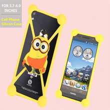 Fashion Lovely 3D Cartoon silicon soft Case THL W8S W3 W3+ 4000 5000 W200 W200S W11 4400 T5 T5S T3 T2 Mobile Phone bag - own confidant-Admire store