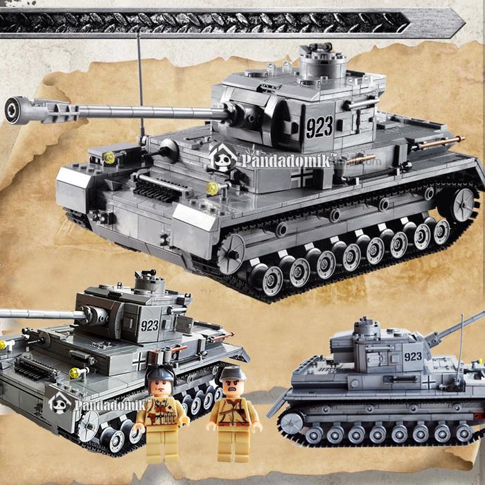 Детское лего Tank IV F2 1193pcs lego & 0201510 mf2300 f2