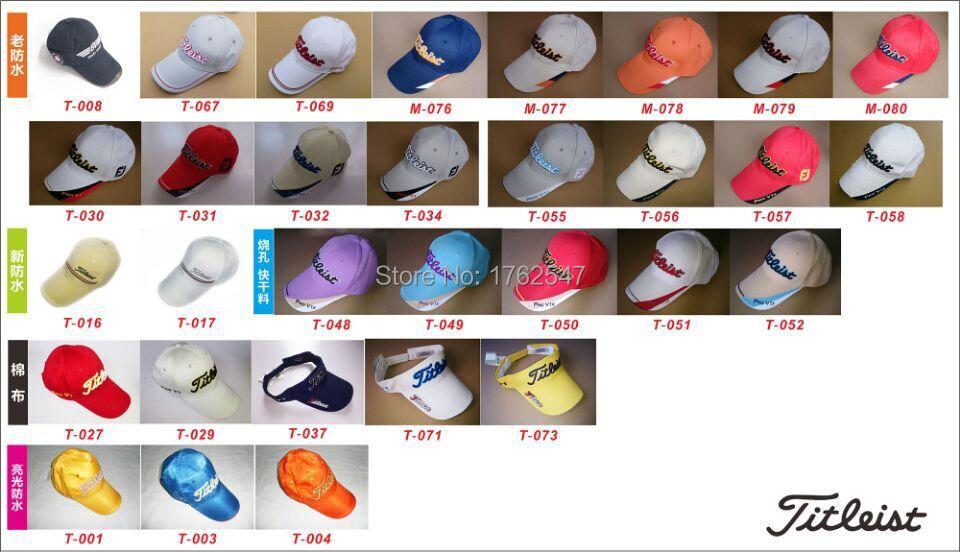 5PCS Golf Caps Brand New Golf Cotton Caps Adjustable Size NO.006(China (Mainland))