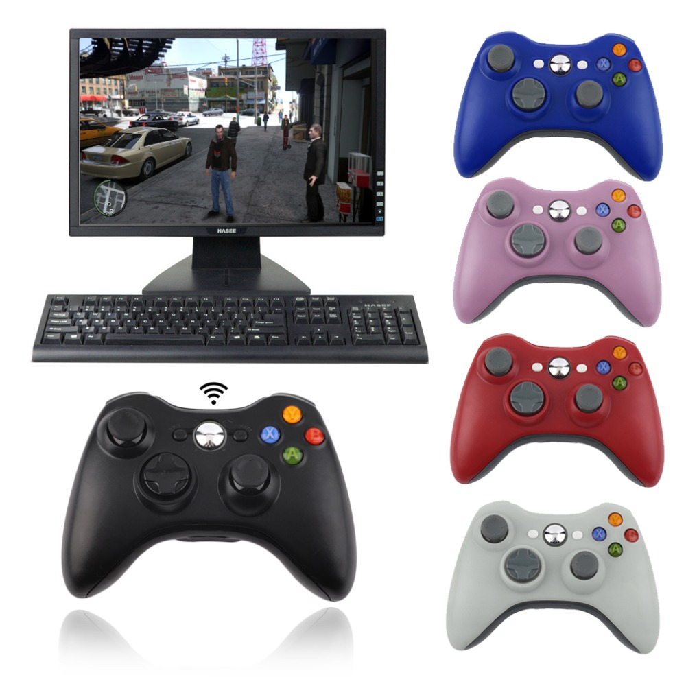 2.4G Wireless Controller USB Game Gaming Gamepad Joystick Receiver for XBOX 360 for PC Computer for WINDOWS XP WIN7 WIN8 WIN8.1(China (Mainland))