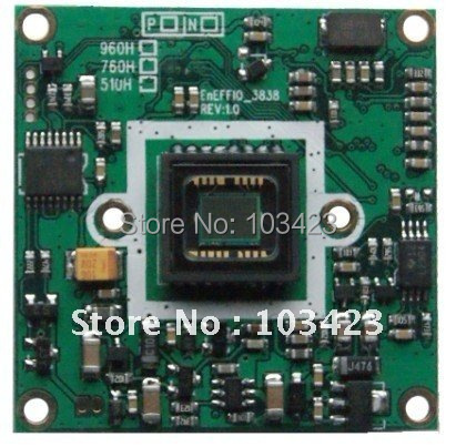 650TV Line Sony CCD Camera Board Enffio-e, CCTV Camera Board