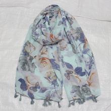 2016 New Women Modal Floral Printed Designer Scarf Summer Beach Flower Casual Silk Scarves Long Muffler Wrap Pashmina(China (Mainland))