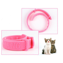 Cats Soft Silicone Pet Cats Flea Collar Reject Tick Mite Louse Kitten Collar(China (Mainland))