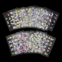 24Pcs/Lot Beauty 3D Butterfly Nail Stickers Manicure Decals Decorations Adhesive Stamping French Nail Art DIY Tools JH133(China (Mainland))