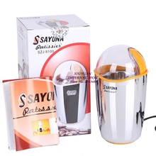 Home appliances kitchen aid tools electric power 220V to 240V, 200W, stainless steel coffee mills, coffee, spice & nut grinders(China (Mainland))