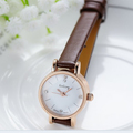 Fashion Leather Strap Watch New Arrival Women Dress Watch Brand Gogoey Trendy Quartz For Ladies Elegant