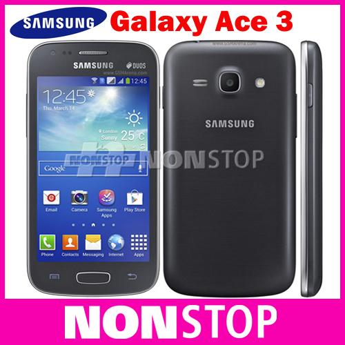Original Samsung Galaxy Ace 3 S7275 Android Mobile Phone 3G GPS WIFI Dual core Refurbished(China (Mainland))