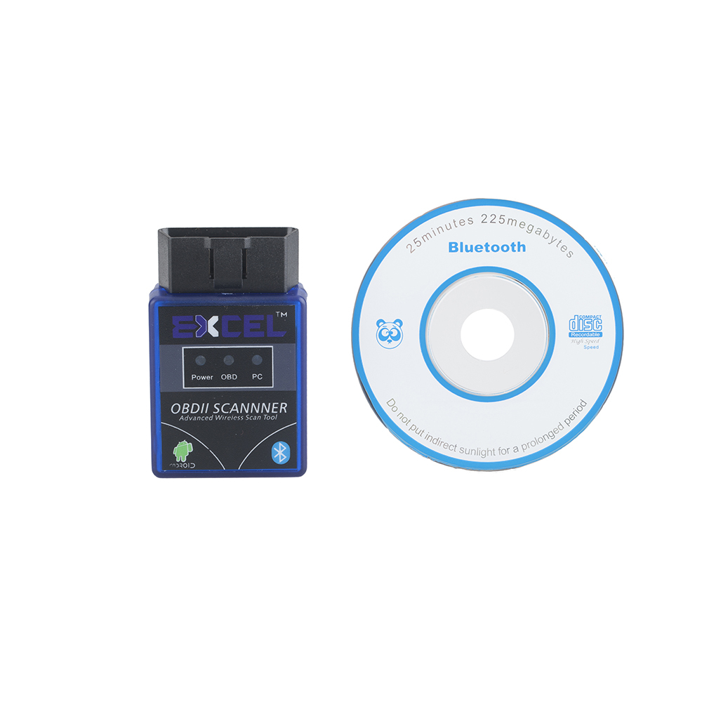 Mini ELM 327 V1.5 OBDII, OBD 2, OBD II Bluetooth car/Auto scan Diagnostic Tool/Scanner Support Android&Symbian Car Code Reader(China (Mainland))