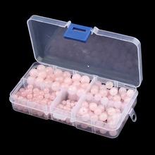 340pcs/box Round Rose Quartz Natural Stone Loose Spacer Beads 4mm 6mm 8mm 10mm Jewelry Box Case Diy Bracelet Necklace Making(China (Mainland))