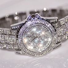 2015 Hot Sale Women Watches Fashion Diamond Dress Watch High Quality Luxury Rhinestone Lady Wristwatch Quartz Watch Dropshipping