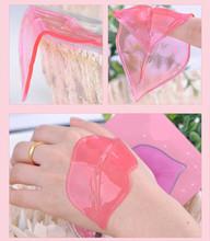 2016 Fashion Beauty Items Whitening Crystal Collagen Anti-chapped Lip Film U-261(China (Mainland))