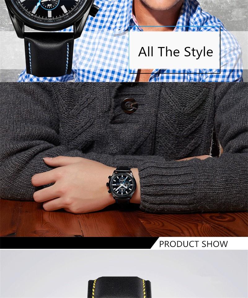 2016 Продажа Недвижимости Ochstin Часы Мужчины Luxury Brand Хронограф Кварцевые Часы Водонепроницаемые Аналоговый Военная Relogio Часы Моды Стиль