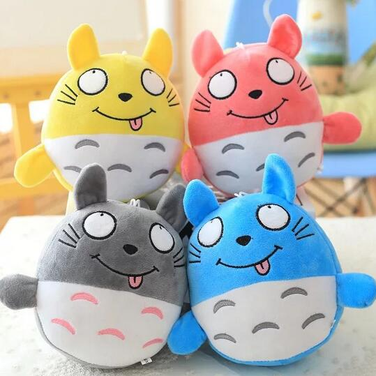 1pc 20cm New Arrival Plush Totoro Toys 4 Colors Cute Staffed Doll Kawaii Toy for Kids Anime Toys Gift(China (Mainland))