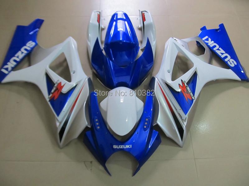 Injection mold Fairing kit for SUZUKI GSXR1000 07 08 GSX-R GSXR 1000 K7 2007 2008 gsxr1000 blue black Fairings set+7gifts SK67(China (Mainland))