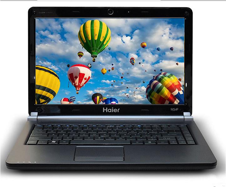 Original Haier haier laptop 7g-2s 14inch 320g hard drive 1g type computer notebook high quality(China (Mainland))