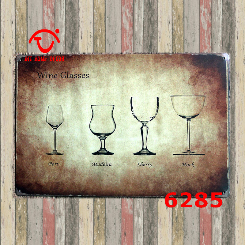 Cheap Plaque Bar Table Sign Wall Stickers UK Shabby Kitchen Signs 20x30cm wall decorations(China (Mainland))