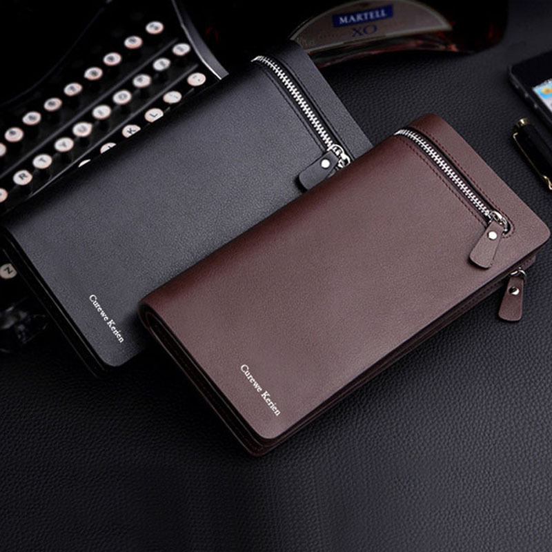 Leather Organizer For Men New 2015 Men pu Leather Multi