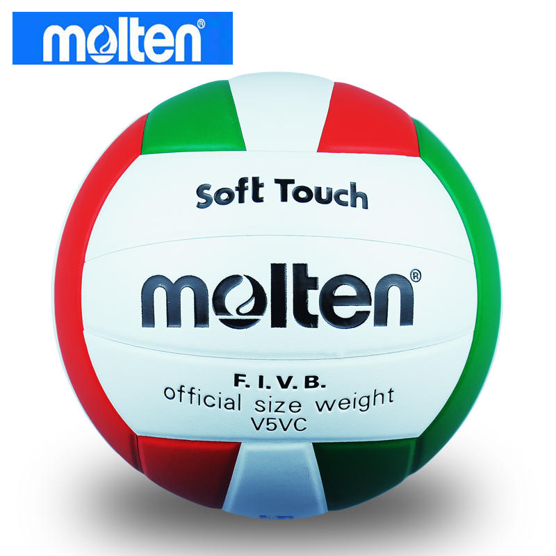 Best quality Original New brand Molten official size weight V5VC PU volleyball Compitition volleyball ball 5#, free shipping(China (Mainland))