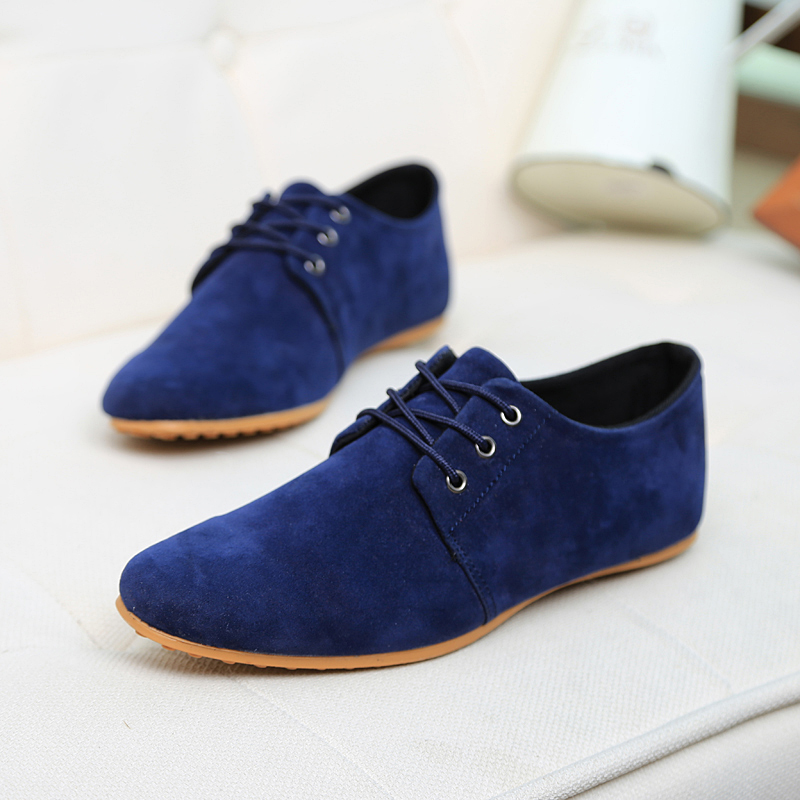 2015 New Fashion Boots Autumn Winter Warm Men Shoes Leather Shoes Men's Flats Shoes Low Men Casual For Men Oxford Shoes
