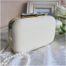 2016 Mini Chain Handbag Shoulder Bag Women Lady Evening Bags Wedding Party Vintage Straw Clutch Crystal Dimond Day Clutches H251