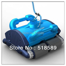 Blue Swimming Pool Robot auto cleaning equipment Robotic vacuum pool cleaner Pool Cleaner Robot Only Free Shipping To Chile(China (Mainland))