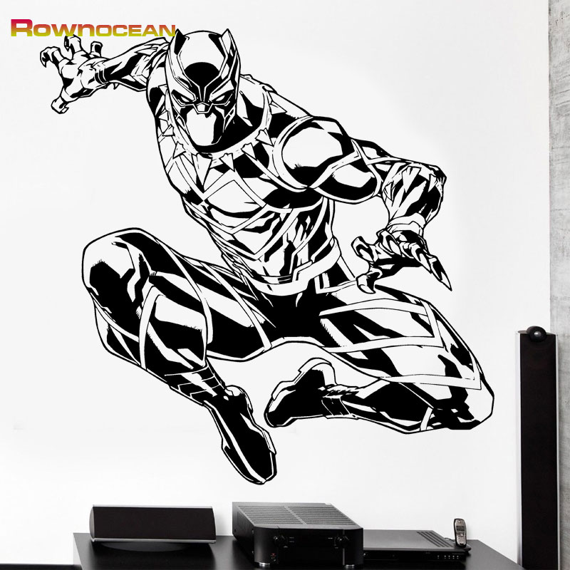 Compare prices on maple leaf sticker online shopping buy for Black panther mural