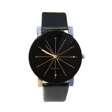 Men Women s Wristwatch Casual PU Leather Strap Round Dial Couples Quartz Watch Sport Watches