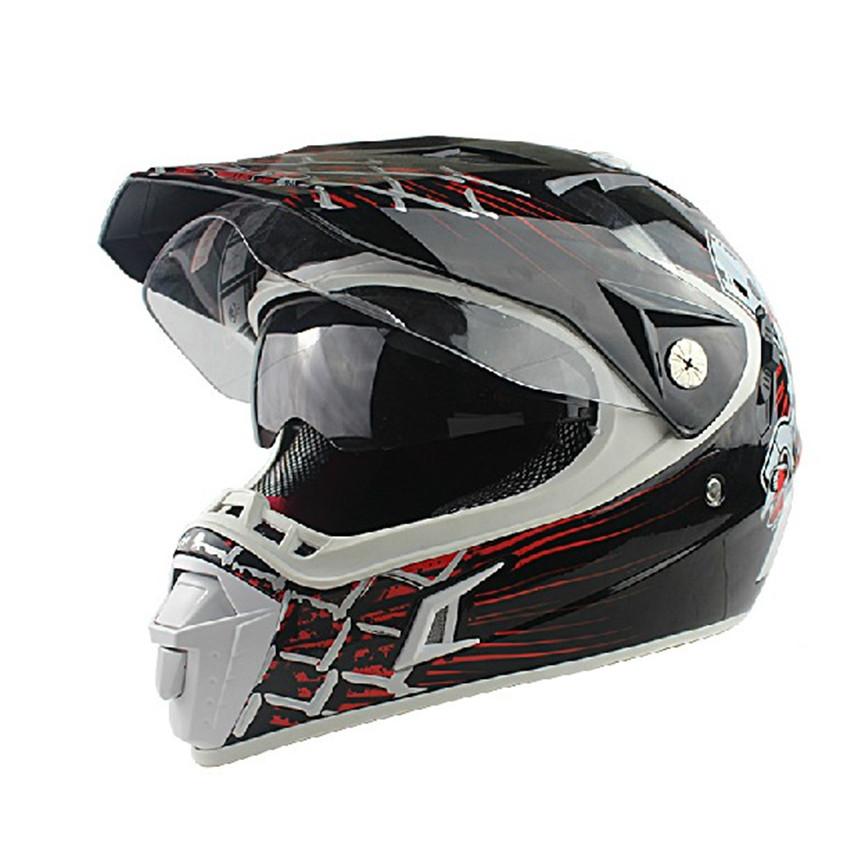 Motorcycle helmet cross full face lens - Ski goggles store