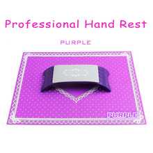 Professional Salon Nail Art Pillow Hand Rests Cushion Pad Arm Tools Silicone Holder Manicure Soft Armrest Handsteun New BN028(China (Mainland))