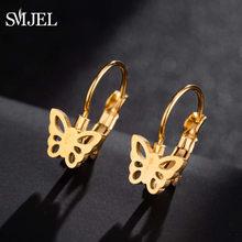 SMJEL Fatima Hamsa main boucles d'oreilles cerceaux femmes filles ethnique bohême main boucles d'oreilles bijoux de mode pendientes aro femmes cadeau(China)